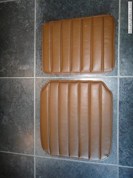 Seat Cover Imitation Leather Brown Citroen HY H912-87 type 1 part