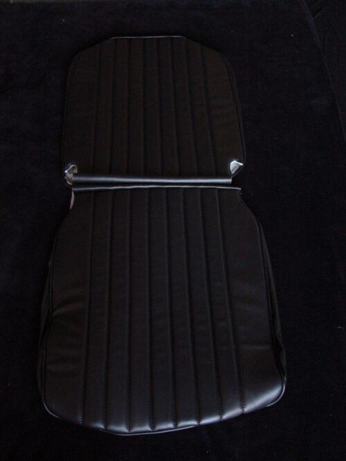 Seat Cover Imitation Leather Black Citroen HY H912-87 part