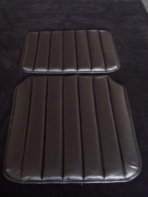Seat Cover Imitation Leather Black Citroen HY H912-87 type 1 part